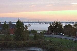 Krimpenerwaard - Krimpenerwaard landscape on an October morning in 2009