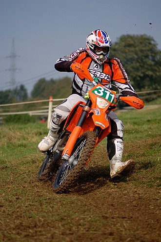 Enduro - A KTM rider at the 2007 Enduro de Dinant.