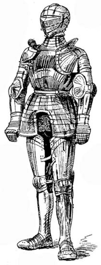 Man-at-arms - Armour of an early 16th-century man-at-arms.