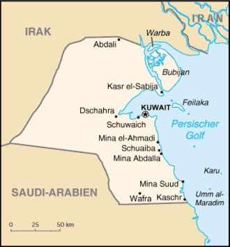 kuwait karte Republik Kuwait – Wikipedia kuwait karte