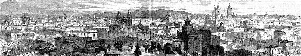 L'Illustration 1862 gravure Panorama de Mexico.jpg