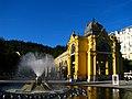 Lázeňská kolonáda a zpívající fontána.JPG