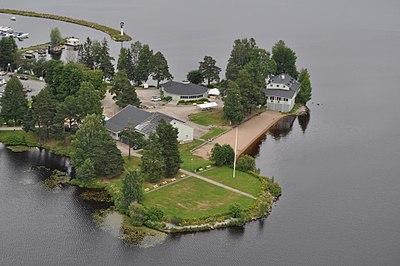 Långnäsparken i Bollnäs