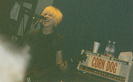Gardner at the Emerson Theatre, 1997 L7 at the Emerson Theatre in Indianapolis, IN circa 1997 - 4738783029.jpg