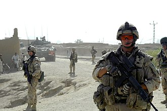Provincial Reconstruction Team - Canadian PRT patrolling in Kandahar Province