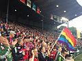 LGBT rainbow pride flag at professional soccer game.jpg