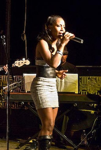 2012 Ovation Awards - LaToya London, winner, Featured Actress in a Musical