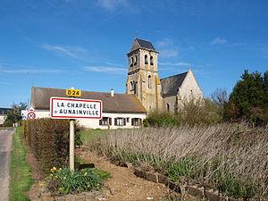 La Chapelle-d'Aunainville - Image: La Chapelle d'Aunainville 28 A01