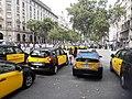 La Gran Via col·lapsada per la protesta dels taxis 20180727 174622.jpg