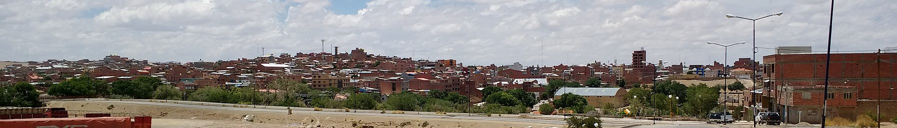 La Quiaca and Villazón banner View of Villazón from La Quiaca.jpg
