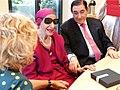 La alcaldesa recibe a Alicia Alonso, la leyenda de la danza (03).jpg