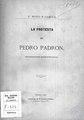 La protesta de Pedro Padrón, romance histórico 1879. Novo y García, Victorino.pdf