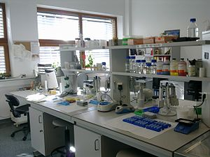 Laboratory - Molecular Biology Technics Laboratory at Faculty of Biology of Adam Mickiewicz University in Poznan
