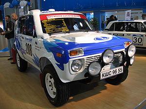 LADA 4x4 - Lada Niva T3 Rally