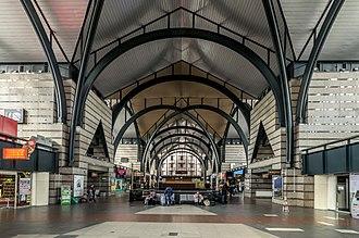 Ladozhsky railway station - Image: Ladozhsky Rail Terminal Central Hall