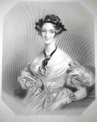 John Russell, 1st Earl Russell - Adelaide Lister, Russell's first wife (d. 1838)