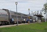 Lake Shore Limited at Buffalo–Depew station, September 2016.jpg