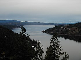 Image illustrative de l'article Lac Coeur d'Alene