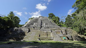 Outline of Belize - The High Temple of Lamanai