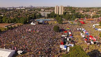 Brockwell Park - Lambeth Country Show 2015 Main Stage