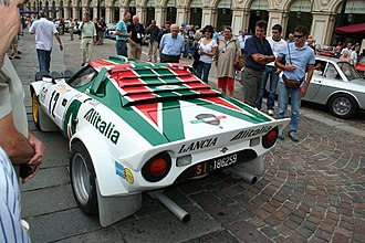 Lancia Stratos - Lancia Stratos HF at the Lancia centenary celebrations in Turin in 2006
