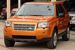 Land Rover Freelander II przed liftingiem