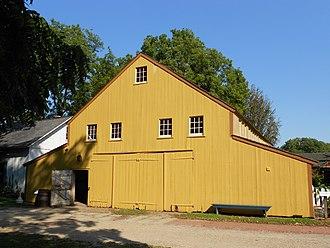 Landis Valley Museum - Image: Landis Valley M Yellow barn