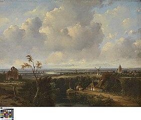 Landschap in Holland
