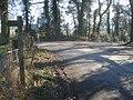 Lane junction near Stoneyard Green - 2 - geograph.org.uk - 758451.jpg