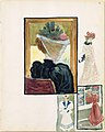 Large Boston Public Garden Sketchbook- Four vignettes of fashionably dressed women MET DT3391.jpg