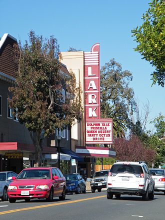 Larkspur Downtown Historic District - Lark Theater