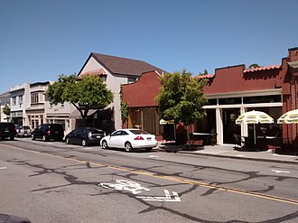 Larkspur Downtown Historic District - Elsewhere on Magnolia Ave.