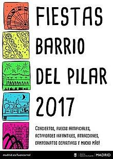 El pilar madrid wikipedia la enciclopedia libre for Piscina municipal barrio del pilar