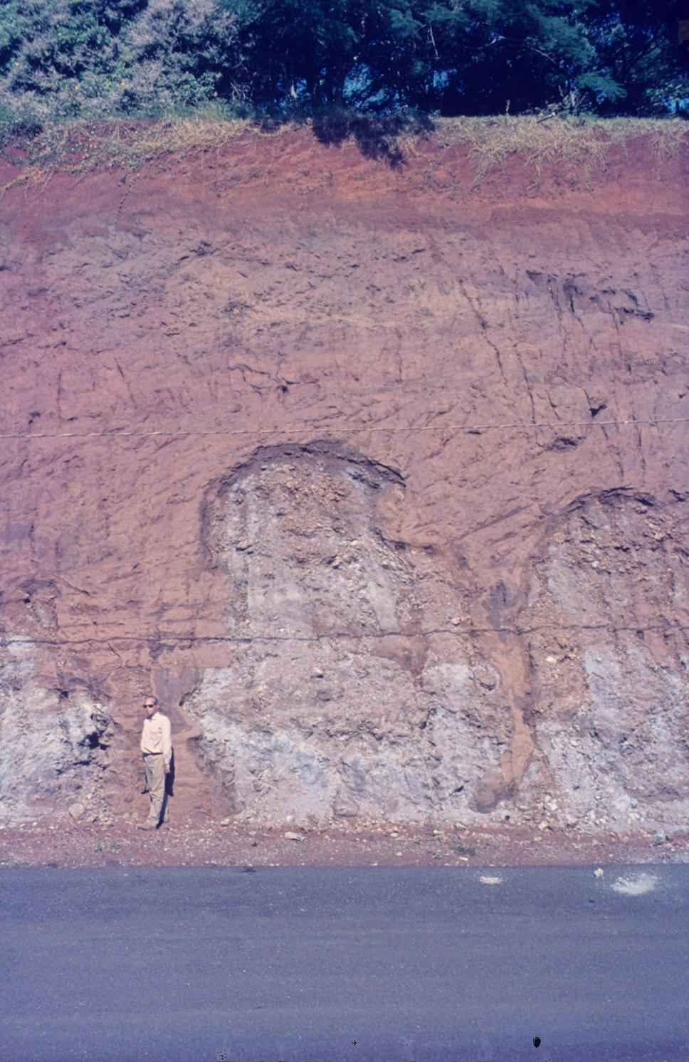 Laterite formation on serpentinite. C 008