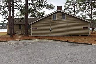 Laura S. Walker State Park - Image: Laura S. Walker State Park group shelter 3 4