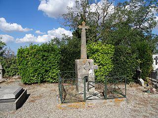 croix de cimetière de Lavalette