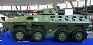 Lazar armored vehicle - Image: Lazar 2 1