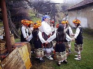 Lazarus Saturday - Lazarus Saturday in Gara Bov (Bulgaria)