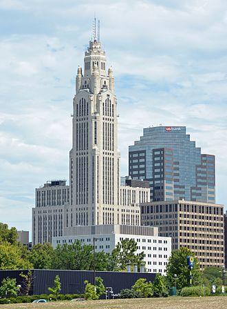 LeVeque Tower - The building in 2016