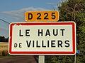 Le Haut de Villiers-FR-89-panneau d'agglomération-2.jpg