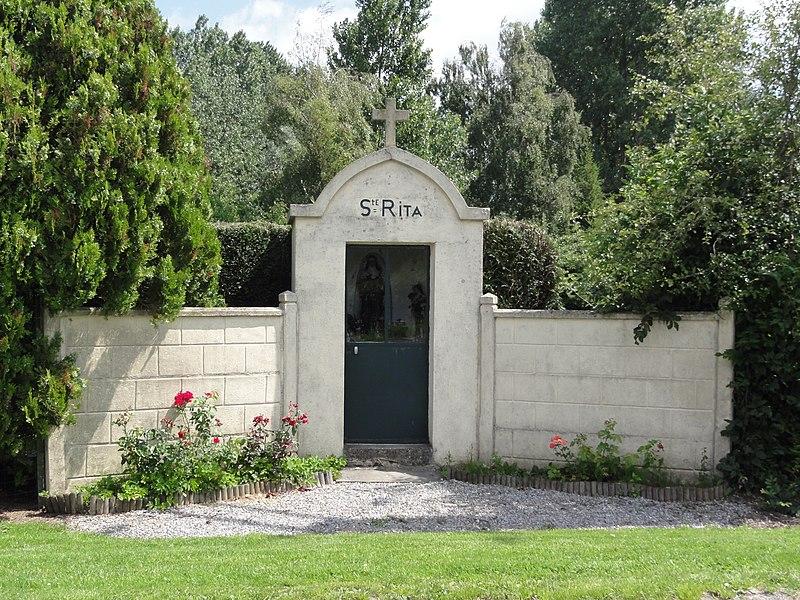 Le Nouvion-en-Thiérache (Aisne, Fr) chapelle Ste Rita
