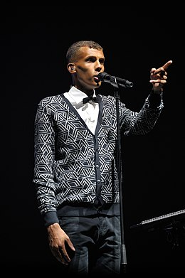 Description de l'image Le chanteur Stromae.jpg.