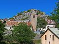 Le village de Sauze et son église.JPG