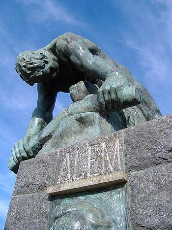 Leandro Alem estatua 3