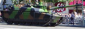 Leclerc main battle tank