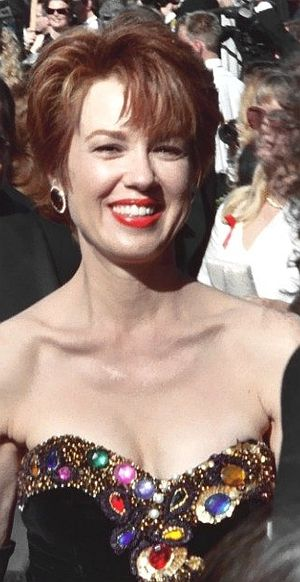 Lee Purcell - Purcell at the 1994 Emmy Awards