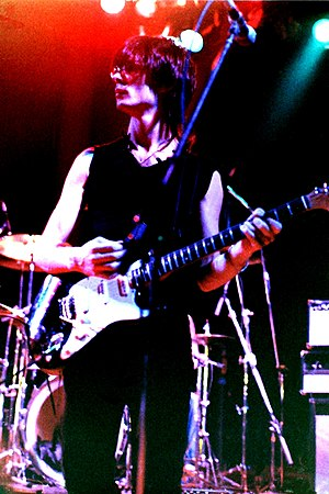 Lenny Kaye - Kaye in concert with the Patti Smith Group, Germany, 1979