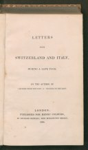 Letters from Switzerland and Italy.tif