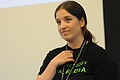 LiAnna Davis speaking at Wikipedia in Higher Education Summit.jpg