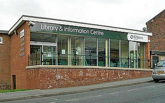 Jo Cox - The library in Birstall where Cox had been due to hold a constituency surgery at the time of the attack